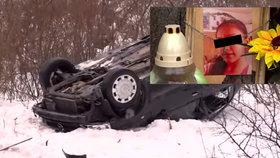 Řidič dostal smyk a smetl 12 školáků: Vaneska (†12) už se domů nevrátí