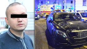 Opilý Rus na Silvestra přejel cizinku: Utekl do Moskvy, hrozit by mu mohlo i doživotí