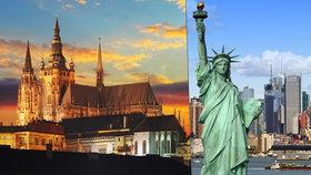 Nejkrásnější místa na světě: Praha předstihla New York! Kdo je první?