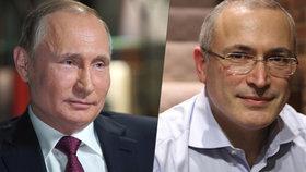 Oligarcha Chodorkovskij: Když mě Putin bude chtít zabít, nikdo mě neochrání