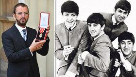 Bubeník Beatles Ringo Starr: Povýšili ho do rytířského stavu!