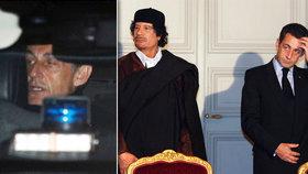 Exprezidenta Sarkozyho po dvou dnech výslechů pustili. Přispěl mu Kaddáfí na kampaň?