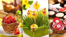 Velikonoce jsou tu: Vejce, lízátka i košíčky - 3 recepty na sváteční pečení