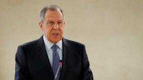 Lavrov tlačí na konec sankcí vůči Kimovi. Ještě před jaderným odzbrojením