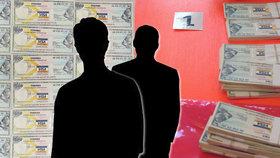 Muži chtěli za padělané šeky inkasovat přes 7 milionů! Kriminalisté je chytli při činu v centru Prahy