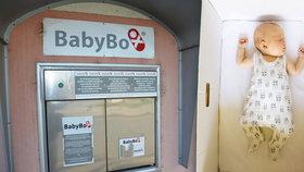V budějovickém babyboxu našli holčičku. Byla v dece a leopardí kůži