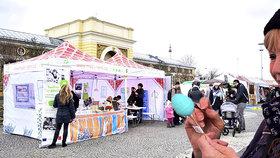 Na Výstaviště dorazilo jaro: Pražané v záplavě květin malovali vejce a učili se dekorovat