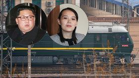 Kdo seděl ve vlaku z KLDR do Číny: Samotný Kim Čong-un, nebo jeho sestra?