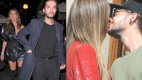 Heidi Klum klofla zajíčka: Chodí s o 16 let mladším kytaristou z kapely Tokio Hotel