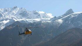 Při noční túře v Nepálu se ztratili dva Češi: Jeden má zlomenou nohu