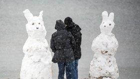 Velikonoce bělejší než Vánoce: Na severu Německa napadlo až 35 centimetrů sněhu