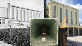 Nejstarší krematorium v Evropě je ve Strašnicích:  První pohřeb žehem tu provedli před 86 lety