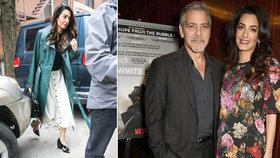 Jindy dokonalá Clooneyho manželka Amal: Nenalíčená a unavená! Zmáhá ji mateřství?