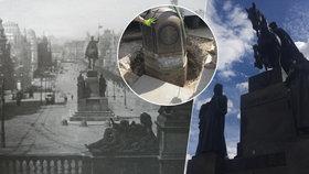 """(Staro)nový svatý Václav: Dělníci už rande """"pod ocasem"""" nebrání, žulové kameny se vrátily domů"""