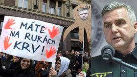 Další vítězství slovenských demonstrantů po vraždě Kuciaka: Šéf policie Gašpar odejde