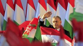 """""""Migrace je rzí, která rozežírá národ,"""" lanařil Orbán voliče. Vyhraje nedělní volby?"""