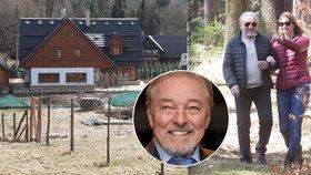 Karel Gott s manželkou Ivanou: Únik do nového domova!