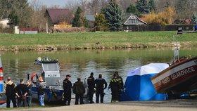 V Čelákovicích se do Labe ponořil muž a nevyplaval: Našli ho mrtvého