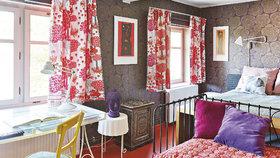 Domov s historií, kde hrají prim barvy a nápady za pár korun