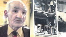 Ludovít, který přežil koncentrák: Uhořel v bytě po výbuchu plynu!
