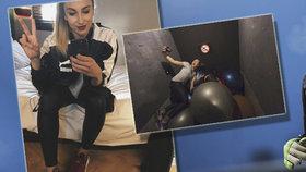 Běhání ve Stromovce za trest? Fanoušci slavnou youtuberku a fotbalistku Báru (21) poznají všude