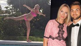 Diana Kobzanová utajila celé těhotenství: Porodí už za dva týdny!