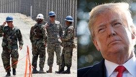 Stavba Trumpovy zdi na hranicích s Mexikem začíná, na 2 tisíce vojáků se přesunulo na jih