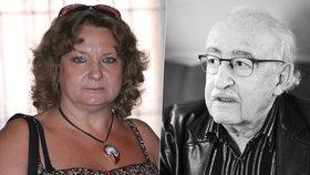 Partnerka zesnulého Herze (†83) Hudečková: Pohřeb nebude, chystám slavnost!