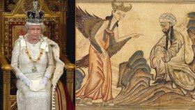 Královna Alžběta II. je potomkem proroka Mohameda, tvrdí noviny. A mají důkaz
