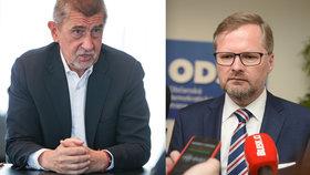"""Babišův ostrý jazyk naštval ODS: """"Urazil naše poctivé voliče,"""" zuří Fiala"""