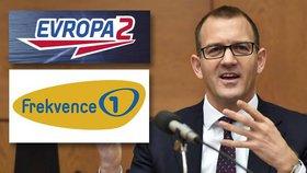 Křetínský kupuje Frekvenci 1, Evropu 2 a další stanice. Zaplatí za ně 1,8 miliardy