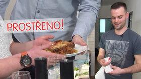 Středeční Prostřeno: Nechutné! Hosté najdou na talíři lidskou krev!