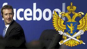 Rusové si došlápli na Facebook: Když nebude ukládat data u nich, zablokují ho