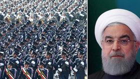 Budeme dál vyvíjet zbraně, hrozí Íránci. Při oslavách výročí revoluce pálili americké vlajky