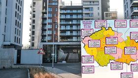 Bydlení v Česku raketově zdražuje: Blesk porovnal, o kolik za rok vzrostly ceny bytů
