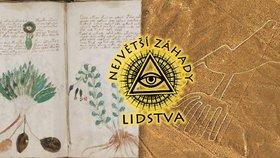 Záhadné vzkazy minulých civilizací: Tajemný rukopis z Prahy a obrazce, které nikdo nerozluštil