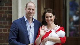 První důležitý krok v životě prince Louise: Pátý následník trůnu je na světě oficiálně!