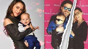 Hvězda Modrého kódu po rozchodu s otcem jejich malého syna: V noci brečím do polštáře!
