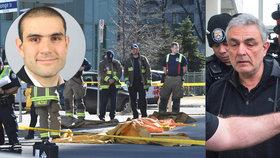 Otec vraha z dodávky se v slzách omlouval obětem. Matka odmítla přijít k soudu