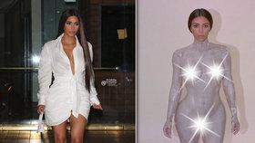 Kim Kardashian úplně nahá! Svlékla se kvůli nové vůni