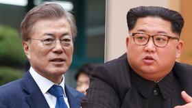 Sjednocená Korea: Prezident a vůdce se potkají na hranicích a budou jednat