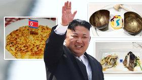 Japonce naštval dezert v menu pro Kima. Na summitu ho čeká i švýcarská specialita