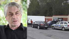 Po jekotu u garáže našel Rychtář slova: Co řekl na policejní razii ve svém tajném úkrytu?