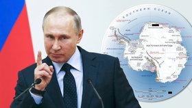 Putin nařídil vydat nový atlas světa. Chce víc ruských názvů