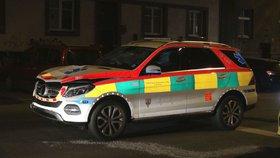 Vůz ředitele pražské záchranky zabil ženu: Byla to matka tří dětí
