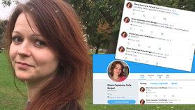 Skripalová prosí o pomoc: Na Twitteru řádí troll vydávající se za dceru otráveného agenta