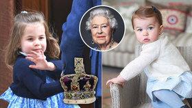 Princeznička Charlotte slaví 3. narozeniny a učí se být královnou! Co jí vtloukají do hlavy?