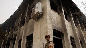 Útok teroristů na volební komisi: Atentátníci zabili 12 lidí