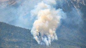 Požár v Tatrách napáchal škodu za 33 milionů. Nejspíš za něj může člověk