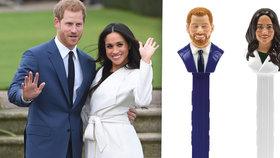 Princ Harry a Meghan už mají vlastní bonbony. Budou je dražit